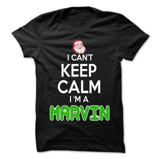 Keep Calm MARVIN... Christmas Time - 0399 Cool Name Shi - #denim shirt #tshirt serigraphy. LIMITED TIME => https://www.sunfrog.com/LifeStyle/Keep-Calm-MARVIN-Christmas-Time--0399-Cool-Name-Shirt-.html?68278