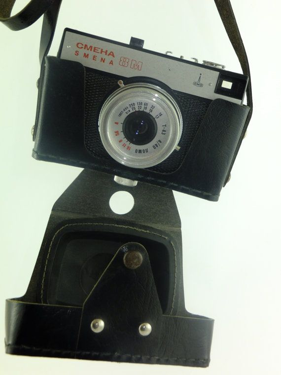 SALE Vintage camera LOMO Symbol Smena 8M Russian by ContesDeFees, $15.00