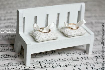 Подушечка для колец - белый,подушечка для колец,свадьба,свадебные аксессуары