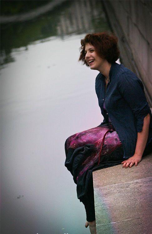 Eco-Stil und Boho chic Mode Plus Size ethnische Hose von LunataFelt