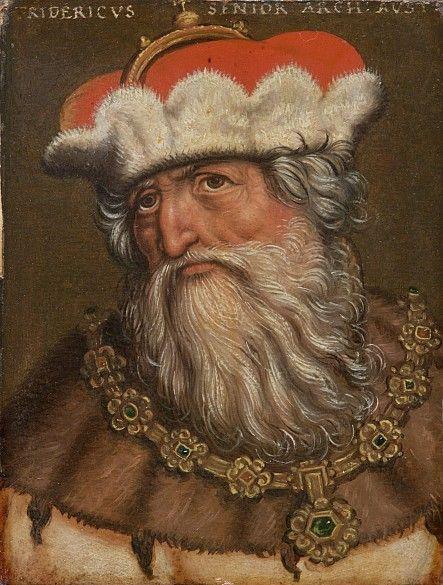 Frederick IV, Duke of Austria (1382-1439) by Antoni Boys Kunsthistorisches Museum