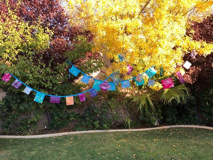 garden banners. Batik Prayer Flags Made By BatikByGies, Gypsy Decoration. Fun Garden Banners R