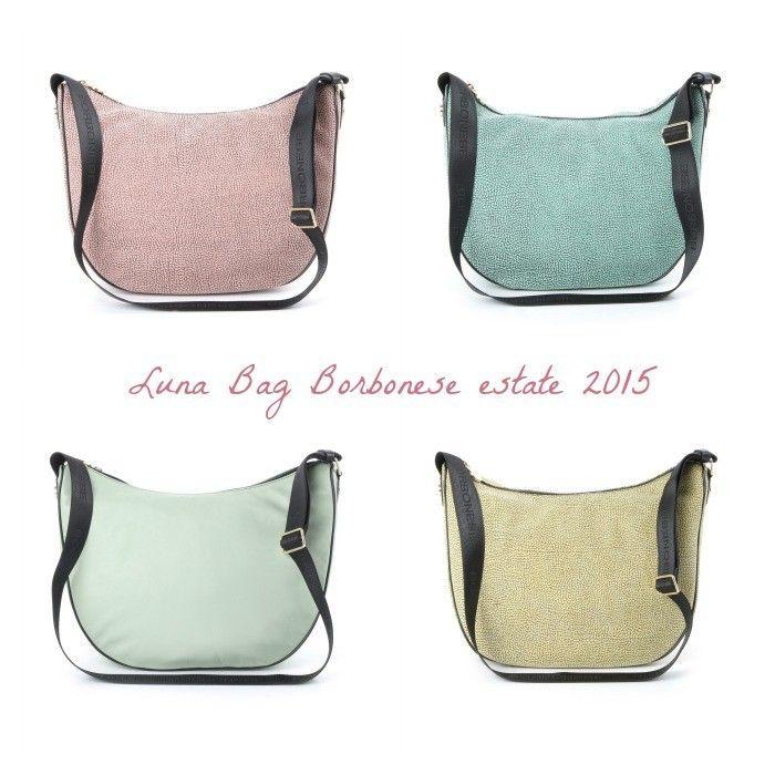 Borse Borbonese Luna Bag Medium collezione estate 2015 Prezzi e Foto