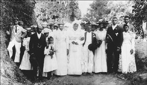 Jamaica Gleaner : Pieces of the Past: Old-time Jamaican weddings