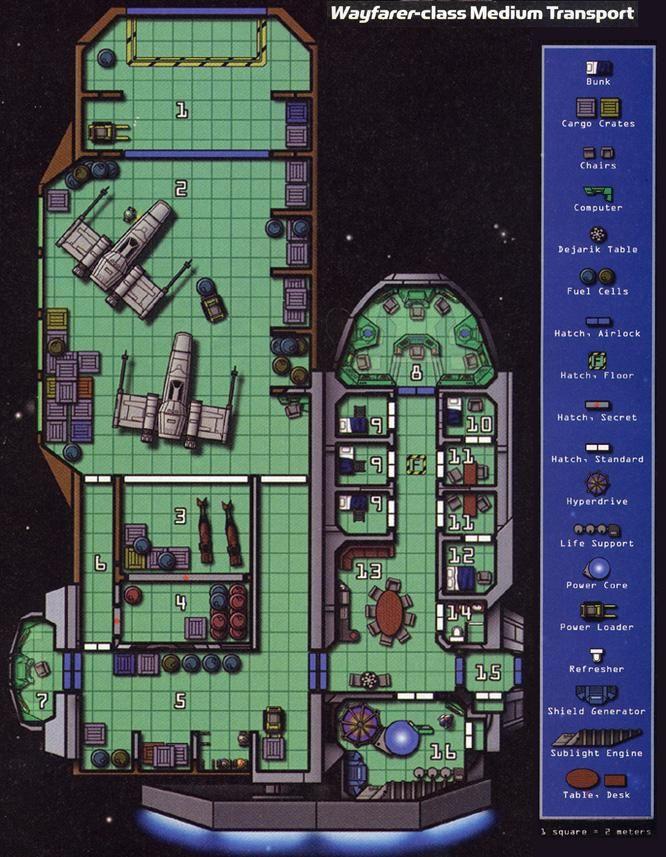 Wonderful Star Wars Ship Floor Plans Part - 12: Wayfarer-class Medium Transport. Game Star WarsStar Wars ShipsStar Wars Art Star ForceDeck PlansSpace ...