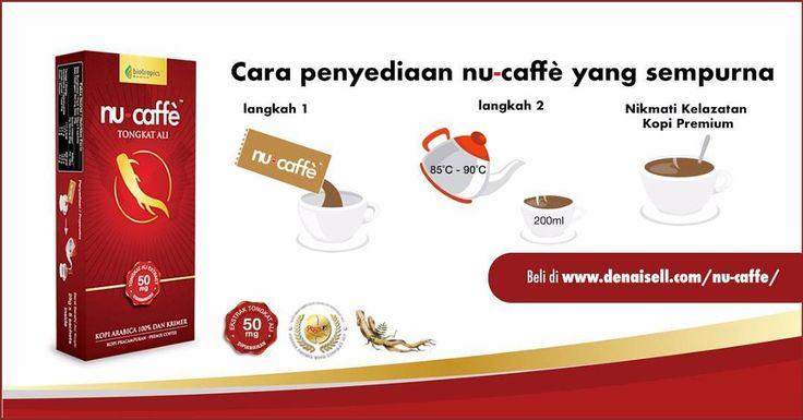 Bulan puasa nak minum kopiminum lah waktu bersahur.  Minum Nu-Caffe waktu sahur boleh tambah tenaga dari subuh hingga ke malam. Tak de alasan tak larat nak bekerja ok . Adunan sempurna kopi 100% Arabica dan krimer dengan ekstrak 50mg PHYSTA dalam setiap hidangan berupaya memberikan anda khasiat Tongkat Ali sebenar! .  Hanya larutkan 25mg Nu-Caffe (1 sachet) di dalam 200ml air panas. Sedia dihidang! . Jom beli #nucaffe #tongkatali ini di http://ift.tt/2pvjCNE. .u  #DHNnucaffe #kopi #coffee…