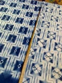 東京の郊外、清瀬市で灰汁による本藍を建て、有松絞りの技法を駆使した絞り教室を開催しています。村井泰子作品集(Flickr)でも作品公開しております。端緒庵公式サイトはこちらからどうぞ。