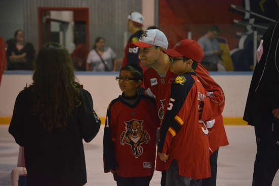 SEASON TICKET HOLDER PANTHERS PROSPECTS SKATE