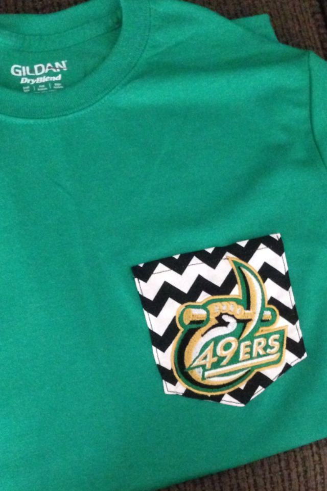 Thanks Michelle for my awesome new UNC Charlotte shirt! #49ers