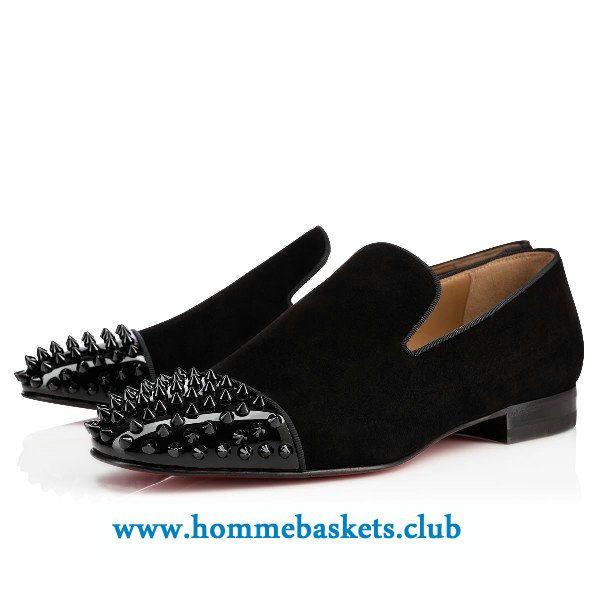chaussure louboutin en daim