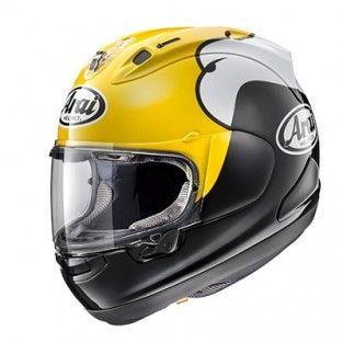 Arai helmen | Arai RX-7 V Kenny Roberts Yellow replica helm | Tenkateshop.com - Tenkateshop.com