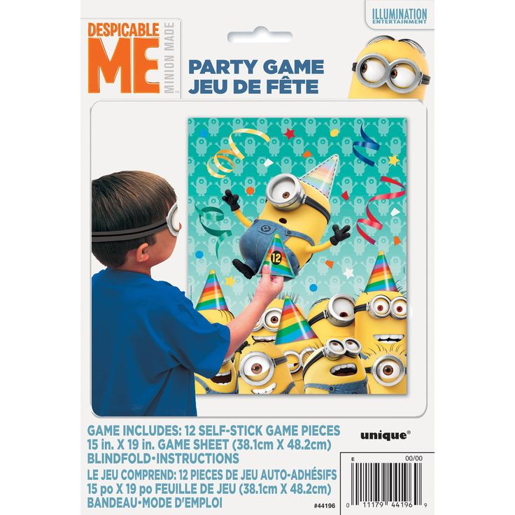Minions Party Game for 12