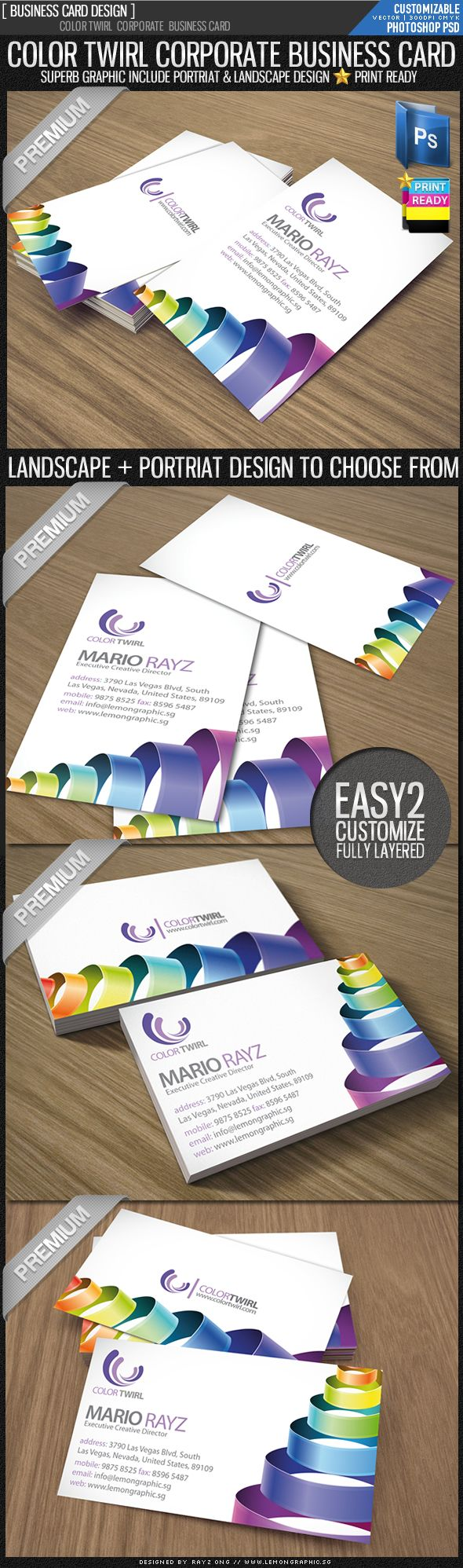 37 best Business Card Ideas images on Pinterest | Business cards ...