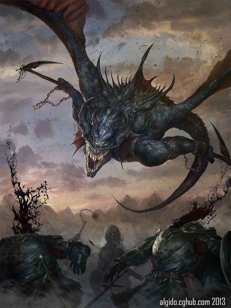 CyberWolf wings demon snake headcutter