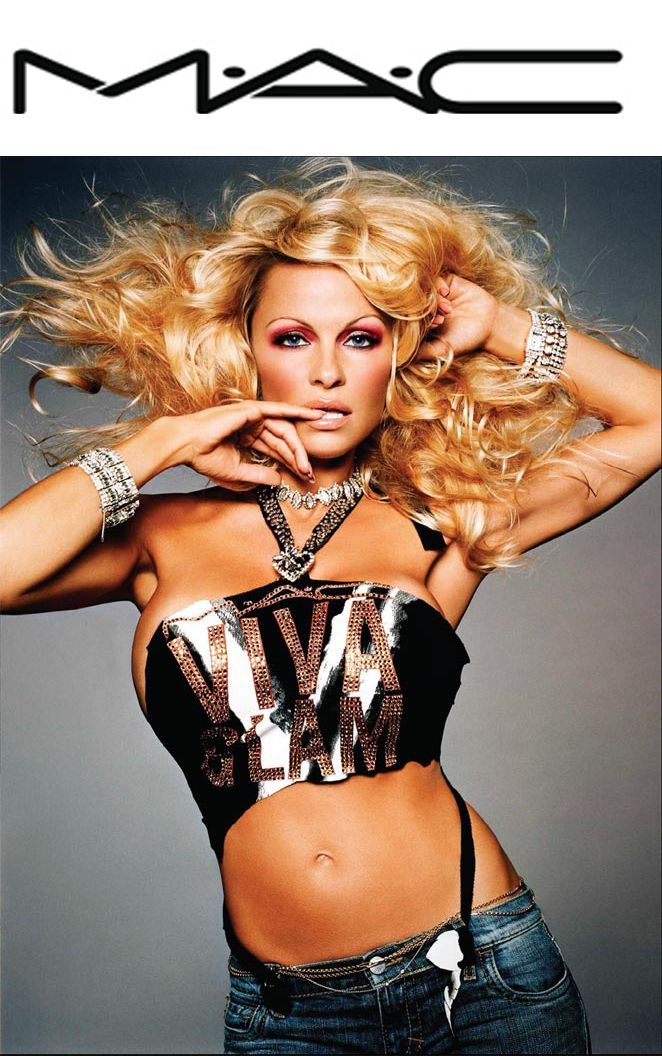 2 things I love. Mac Makeup and Pam Anderson