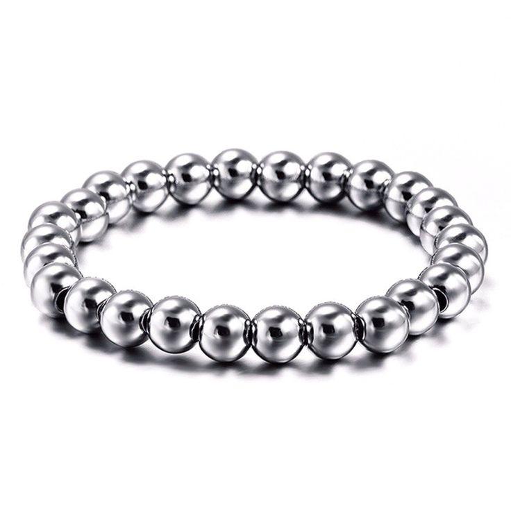 Stainless Steel Beads Bracelet