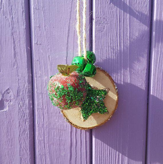 Green Tree Decoration Christmas Decor Festive Hanging Pagan