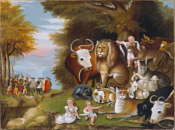 50 Best Edward Hicks 1780 1849 Images On Pinterest