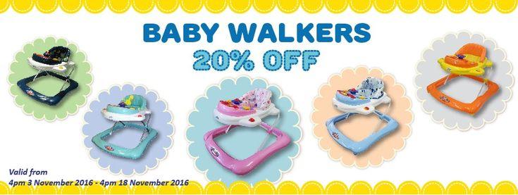 20% Off Baby Walkers @ Baby Online - Bargain Bro