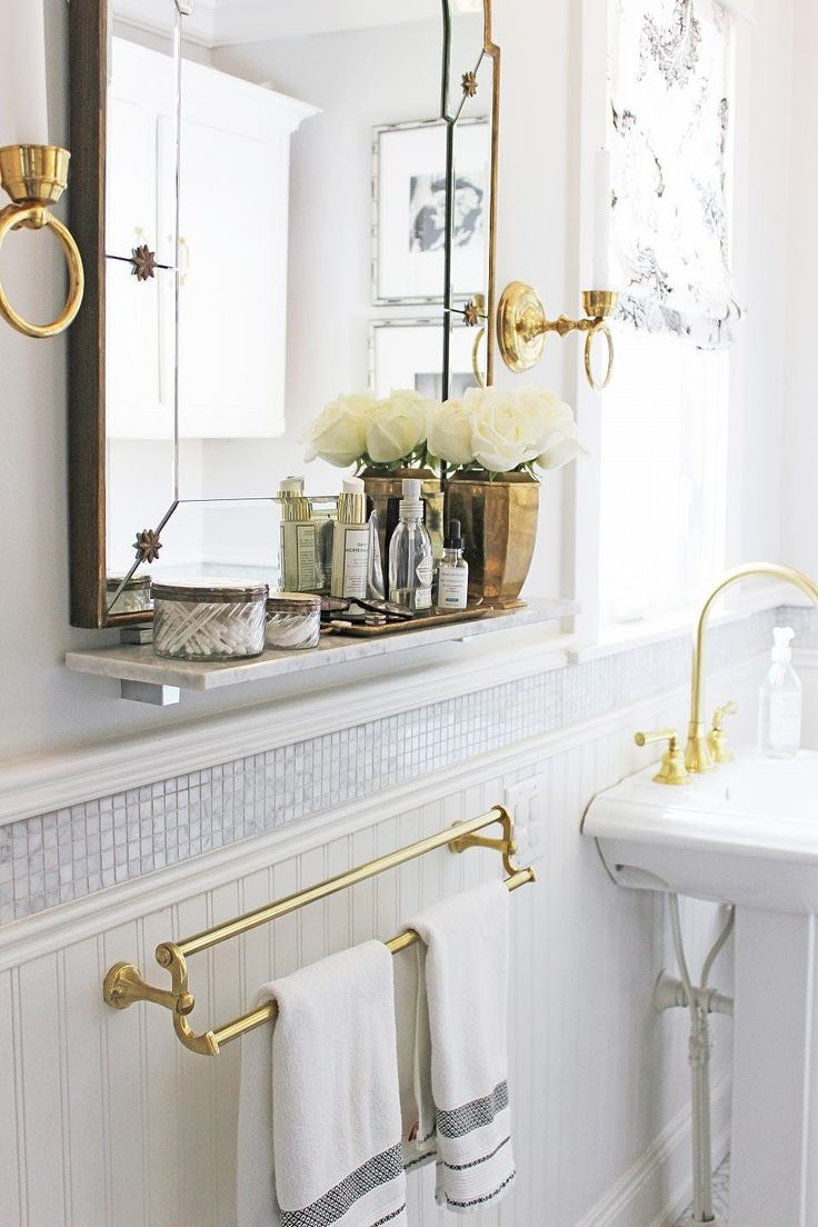Ideas 10 bathrooms with beadboard wainscoting apartment therapy - The Simple Affordable Yet Totally Transformative Addition Your Bathroom Needs