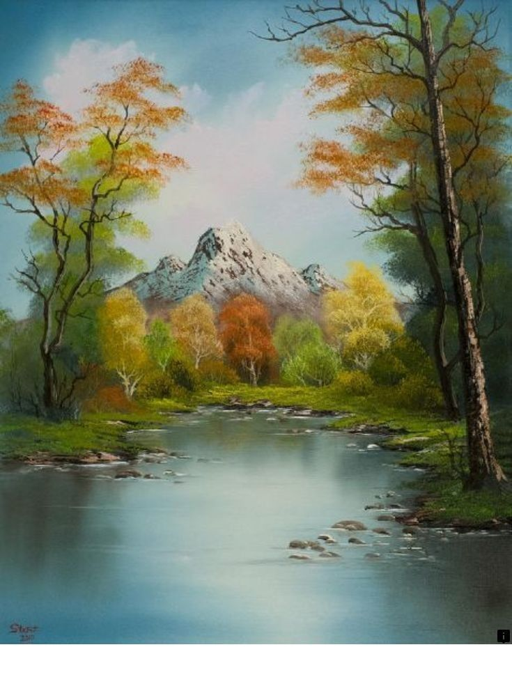 What Are Bob Ross Paintings Worth : paintings, worth, About, Painting, Landscape., Click, More~~~~~~, Presence, Worth, Checking, Out…, Paintings,, Ross,