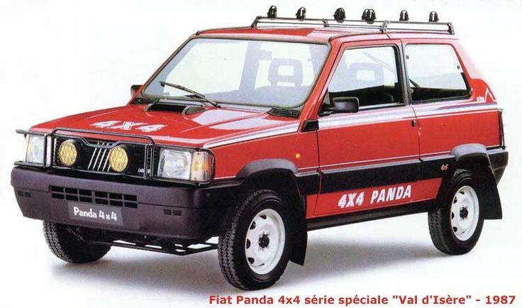 Fiat Panda 4x4 Val d'Isère - 1987