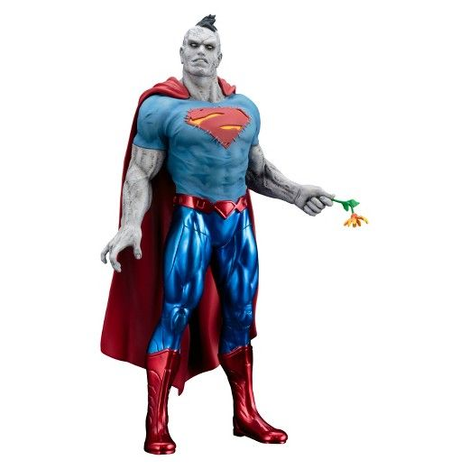 Kotobukiya's lineup of statues based on the superheroes and villains of DC Comics continues to grow and the latest addition is the modern incarnation of the anti-Superman Bizarro! <br><br>In the New 52 era of DC Comics, Bizarro did not come from another planet or parallel dimension, but rather Lex Luthor's laboratory where the supervillain scientist was attempting to clone the Man of Steel. The experiments did not go as planned, but when the Crime Syndicate too...