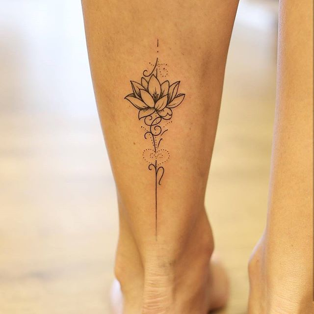 Best 25 small mandala tattoo ideas on pinterest simple for Small lotus tattoo