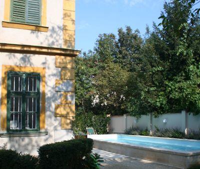 Csokonai Luxury Villa at Lake Balaton - the pool