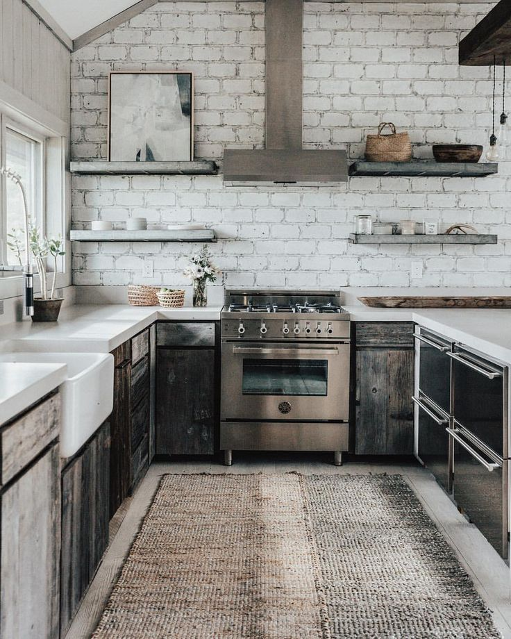 Le Roux Kitchen: Best 25+ Brick Wall Kitchen Ideas On Pinterest