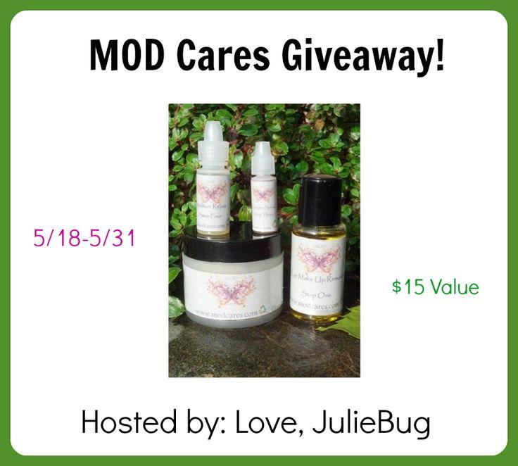 MOD Cares Giveaway - 5/18-5/31st via www.lovejuliebug.com