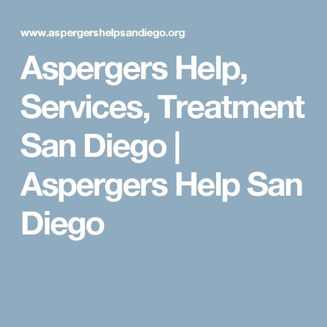 Aspergers Help, Services, Treatment San Diego | Aspergers Help San Diego