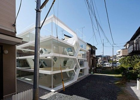 see through transparent house