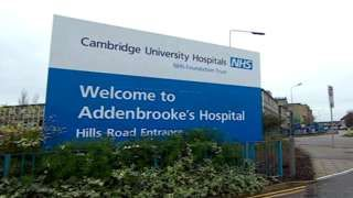 Flu outbreak shuts two hospital wards at Addenbrooke's Hospital