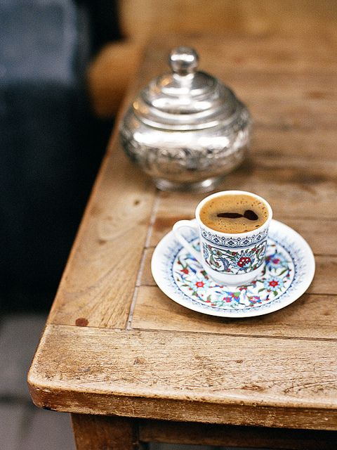coffee in Istanbul. My mug/teacup obsession now extends to Turkish coffee cups.