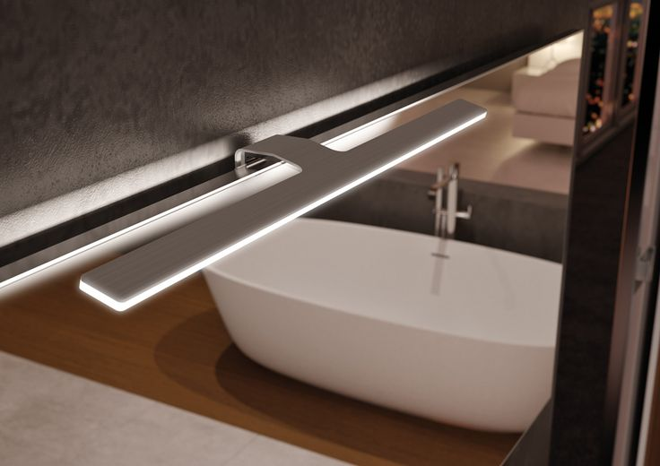 Spot f09 led pour armoire miroir de salle de bain sonia - Spot led ip65 salle bain ...