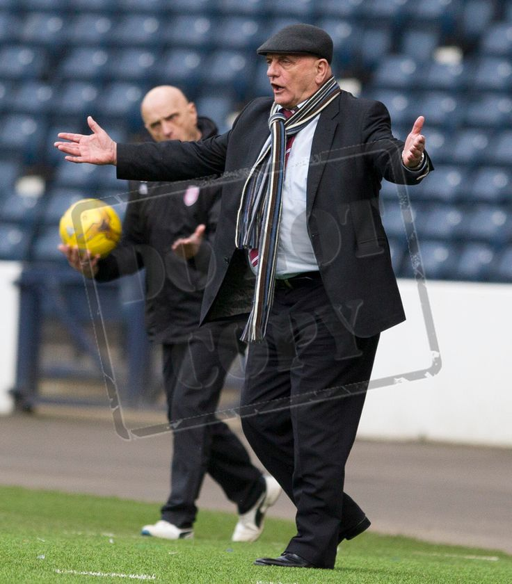 Arbroath's Dick Campbell during the SPFL League Two game between Queen's Park and Arbroath.