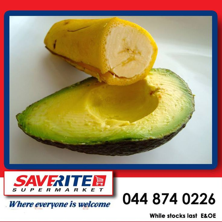 Did you know that an avocado has more than twice as much potassium as a banana? #freshfruit #groceries #supermarket