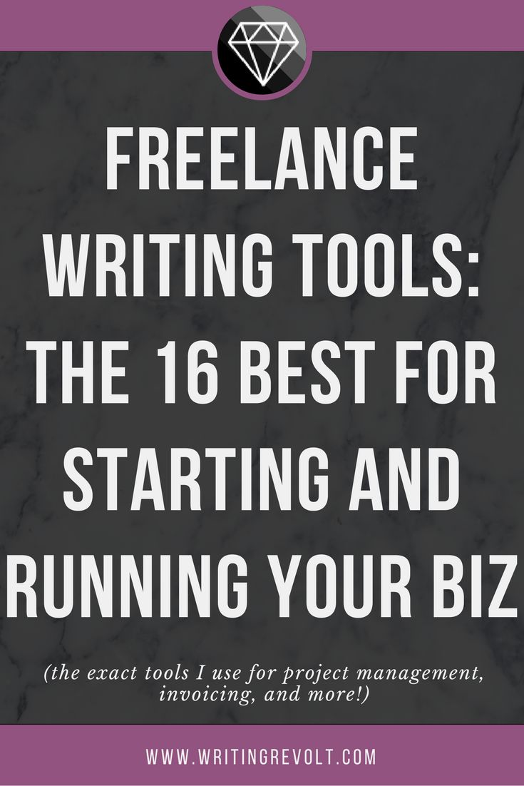 Start and run a SUPER profitable freelance writing business with these 16 tools! Click to see a behind-the-scenes look at exactly how I run my freelance biz.