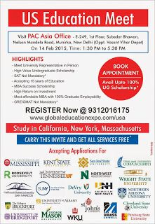 Global Education Expo: Get Upto 100% Scholarship | Overseas Education