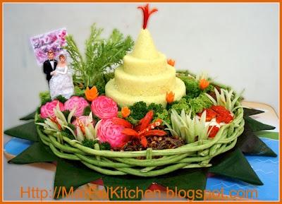 MarFel's Kitchen: A. Main Dish - Nasi Tumpeng