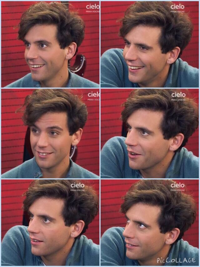 Mika X Factor 2014 //  omg his hair on this picture set