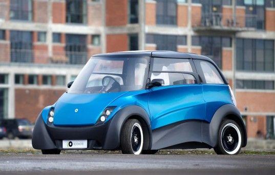 QBEAK, ECoMOve, electric car, ev, insero e-mobility, serenergy, 500 mile range car