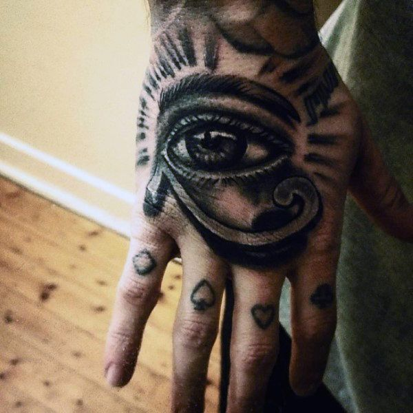 50 Eye Of Horus Tattoo Designs For Men Egyptian Hieroglyph Ink Horus Tattoo Eye Of Ra Tattoo Eye Tattoo