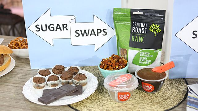 Swap Out your Sugary Foods #HealthyEating