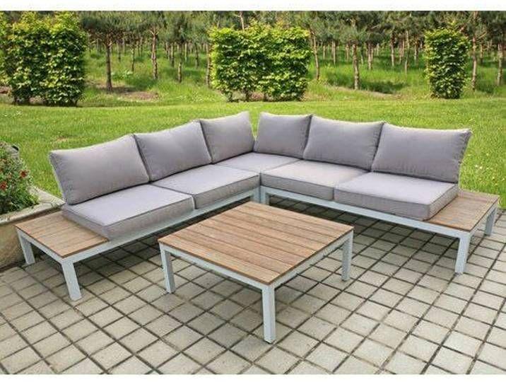 5 Sitzer Lounge Set Vernia Mit Polster In 2020 Lounge Gartenmobel Lounge Mobel Garten Lounge