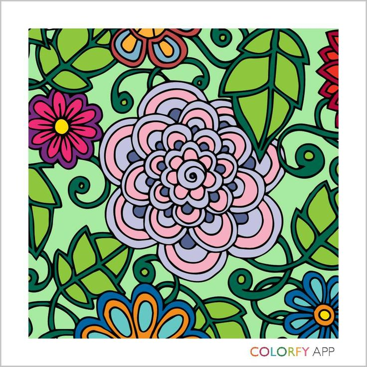 Pin by Avocado_Baby on Colorfy app creations