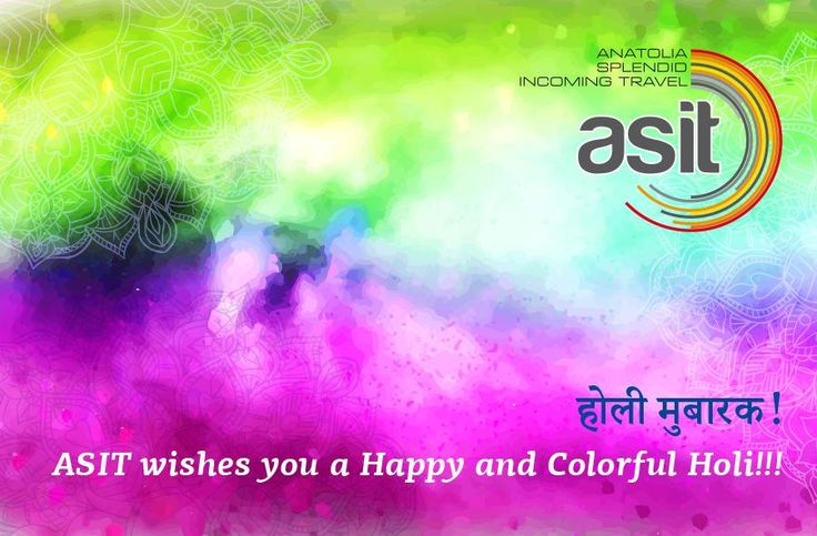 ASIT Team wishes you होली मुबारक!!! Holi is a spring festival in Nepal and India, also known as the Festival of Colours or the Festival of Sharing Love. It's a two day festival which starts on the Purnima (Full Moon day)! After a day of play with colours, people clean up, wash and bathe, sober up and dress up in the evening and greet friends and relatives by visiting them and exchanging sweets. Holi is also a festival of forgiveness and new starts, which ritually aims to generate harmony!
