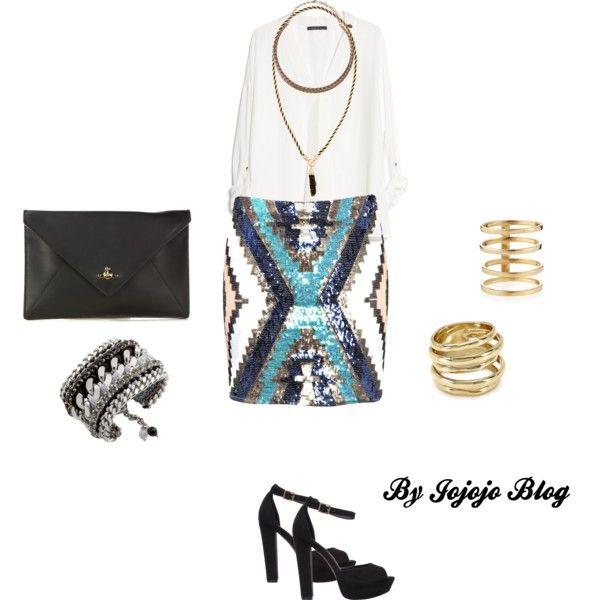 Elif Denizer Style by joanajoel on Polyvore featuring moda, MANGO, Boohoo, SPURR, Vivienne Westwood, Lamprini, Lana, Alexis Bittar and Sole Society