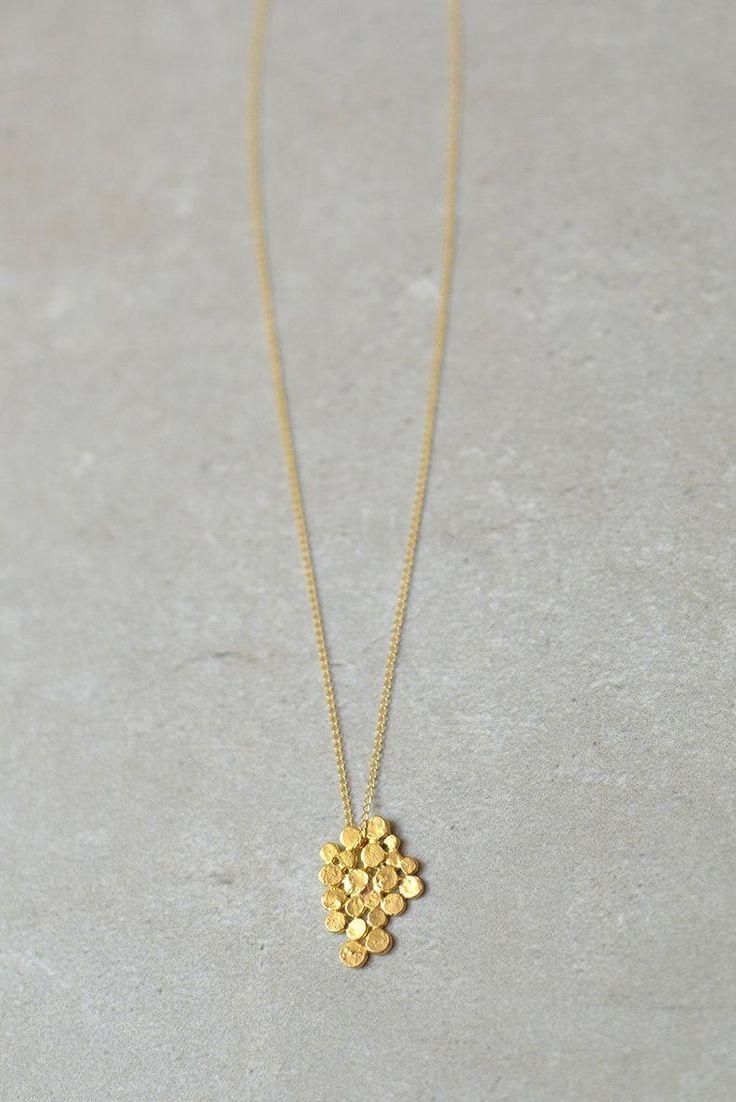 Wear a dangling bundle of gold.